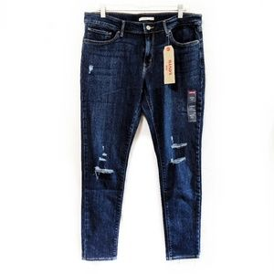 NWT Levi's   711 Skinny High Rise Jeans